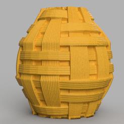 10 rendu 1 .png Download STL file striped vase • 3D printer design, motek
