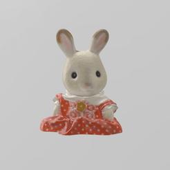 poupee lapin 1.png Télécharger fichier STL Poupée lapin • Plan pour imprimante 3D, motek