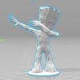 Télécharger fichier STL gratuit Baby Groot Dab , Motek3D
