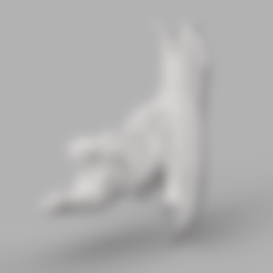 chat seul .stl Download STL file vorono cat • Object to 3D print, motek