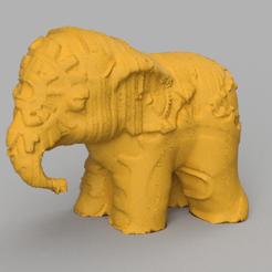 06.png Télécharger fichier STL Elephant  • Modèle pour imprimante 3D, motek