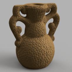 amphore rendu 2 .png Télécharger fichier STL amphore vase • Plan à imprimer en 3D, motek