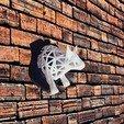 toro 1.jpg Download STL file Voronoi Bull • Object to 3D print, motek