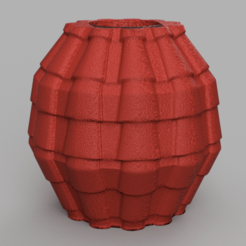 17 rendu 1 .png Download STL file vase 17 tile • Design to 3D print, Motek3D