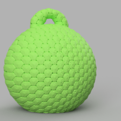 01.png Télécharger fichier STL gratuit boule de noel • Objet imprimable en 3D, motek