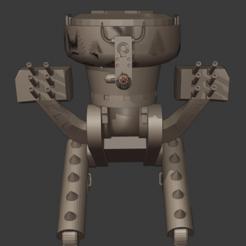 Free 3D print files Robot, Motek3D