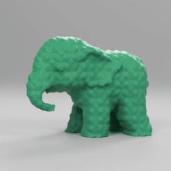 00050.png Télécharger fichier STL Elephant  • Modèle pour imprimante 3D, motek