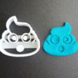 3D printer models Pack cookies cutter Emoji, Motek3D