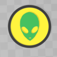 Download free 3D printing designs UFO sign, Motek3D