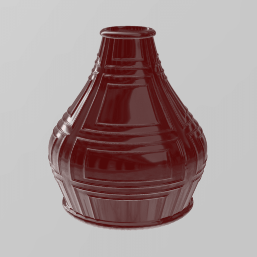 Sans titre.png Download free STL file Vintage vase • 3D printer model, motek