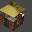 untitled.png Télécharger fichier STL Tiny house • Plan pour impression 3D, Motek3D