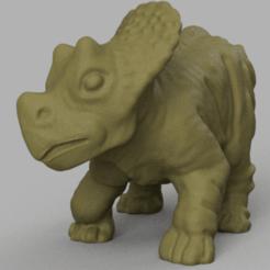 dino 3 rendu 6.png Télécharger fichier STL Dinosaure 3 • Objet pour imprimante 3D, Motek3D