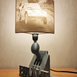 Download free 3D printer designs Shifter lamp, Motek3D