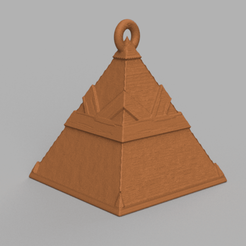 8.png Download free STL file Christmas ball triangle • 3D printer template, motek