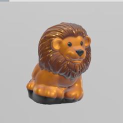 lion pres.png Download free STL file lion • Template to 3D print, motek