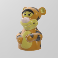 Download free STL file Tigger • 3D print template, Motek3D