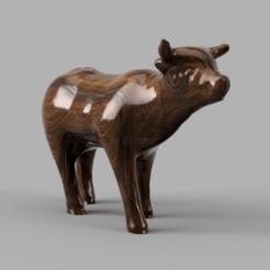 vache pres rendu 3.png Download STL file cow • Design to 3D print, Motek3D