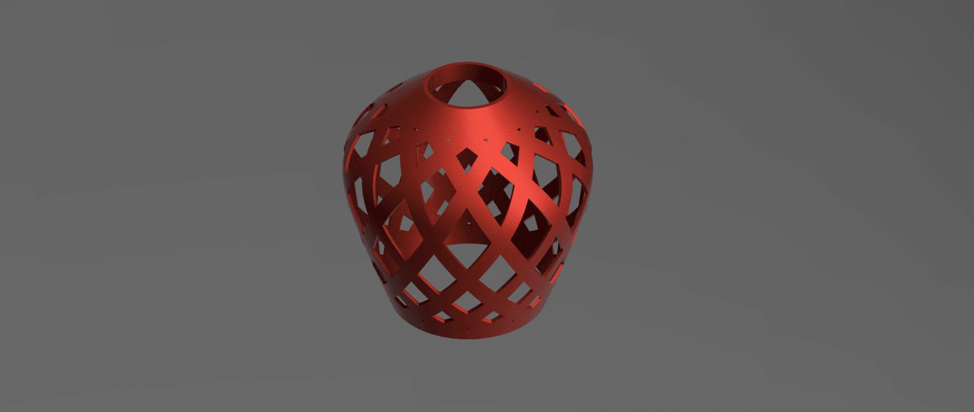 abat jour e27 1 v2.png Download STL file Lamp shade • 3D printable model, motek