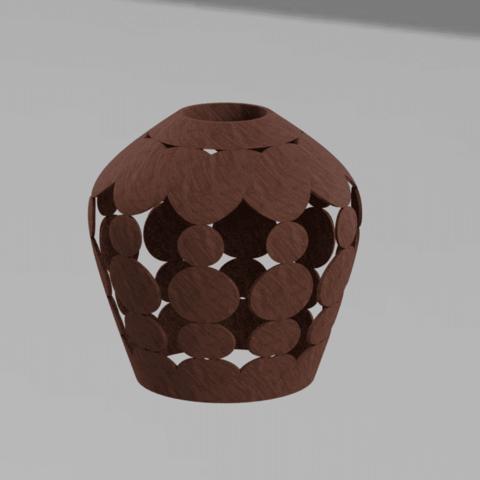 BUBLE BAJOUR BOIS.png Download STL file bubble lamp shade • 3D printing design, motek