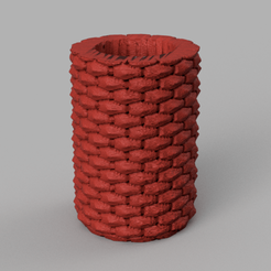 vase pierre 3 .png Download STL file stone vase • 3D printer object, Motek3D