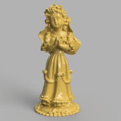 ange 1 .png Download STL file Girl Angel • 3D printing object, motek