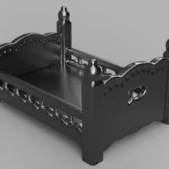 lit presentation 1 .png Télécharger fichier STL lit  • Plan pour imprimante 3D, motek