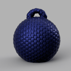 1 rendu 1 .png Download STL file bauble • Object to 3D print, Motek3D