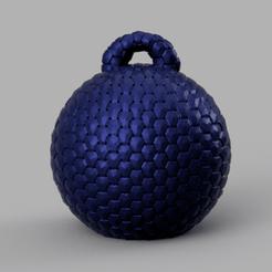 1 rendu 1 .png Télécharger fichier STL boule de noel • Objet imprimable en 3D, Motek3D