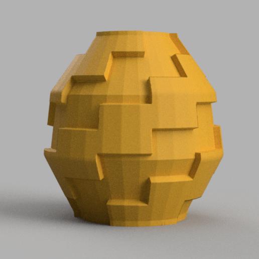 6 rendu 2.png Télécharger fichier STL X86 Mini vase collection  • Objet imprimable en 3D, motek