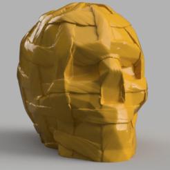skull grande corde rendu 1 .png Download STL file Skull big rope • 3D printer template, Motek3D