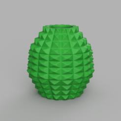 22 rendu 1 .png Télécharger fichier STL Vase 22 • Modèle à imprimer en 3D, Motek3D