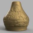 vase buddha .png Télécharger fichier STL X86 Mini vase collection  • Objet imprimable en 3D, motek