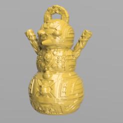 23.png Télécharger fichier STL Bonhomme de neige • Design imprimable en 3D, motek