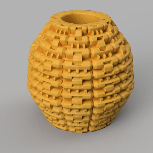26 rendu 3 .png Télécharger fichier STL X86 Mini vase collection  • Objet imprimable en 3D, motek
