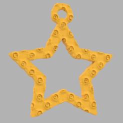55.png Télécharger fichier STL gratuit Etoile creuse  • Plan pour imprimante 3D, motek
