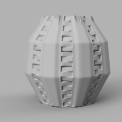 28 rendu 1 .png Télécharger fichier STL Vase 28 • Plan pour imprimante 3D, Motek3D
