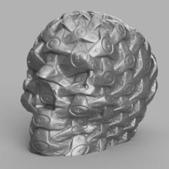 skull mecha rendu 2 .png Télécharger fichier STL Skull mécanique X2  • Design pour impression 3D, Motek3D