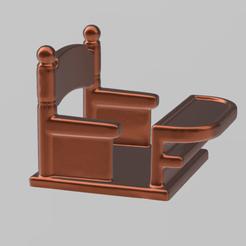 desk pres.png Download STL file school office • 3D print model, Motek3D