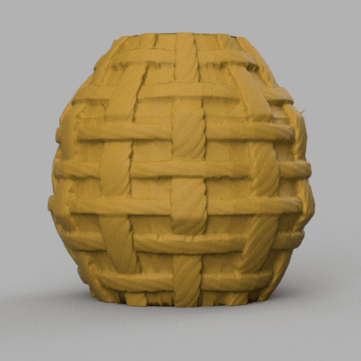 9 rendu 1 .png Télécharger fichier STL X86 Mini vase collection  • Objet imprimable en 3D, motek
