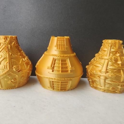 IMG_20200710_132023.jpg Télécharger fichier STL X86 Mini vase collection  • Objet imprimable en 3D, motek