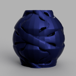 24 rendu 1 .png Download STL file Vase 24 • 3D printable template, Motek3D