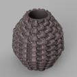 vase mecha 3 rendu 2 .png Télécharger fichier STL X86 Mini vase collection  • Objet imprimable en 3D, motek