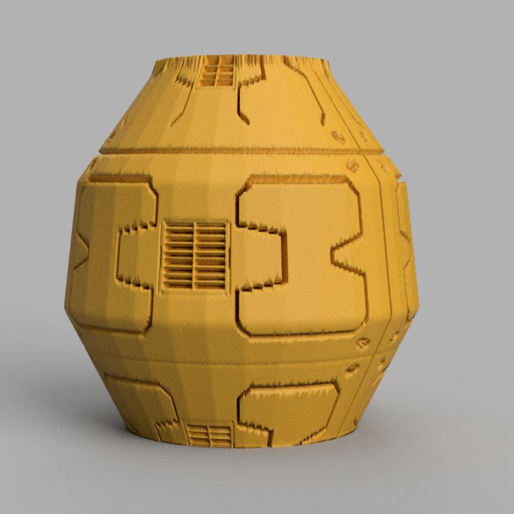 32 rendu 2 .png Télécharger fichier STL X86 Mini vase collection  • Objet imprimable en 3D, motek