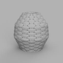 1rendu 1 .png Télécharger fichier STL vase ecaille 2  • Modèle pour impression 3D, Motek3D
