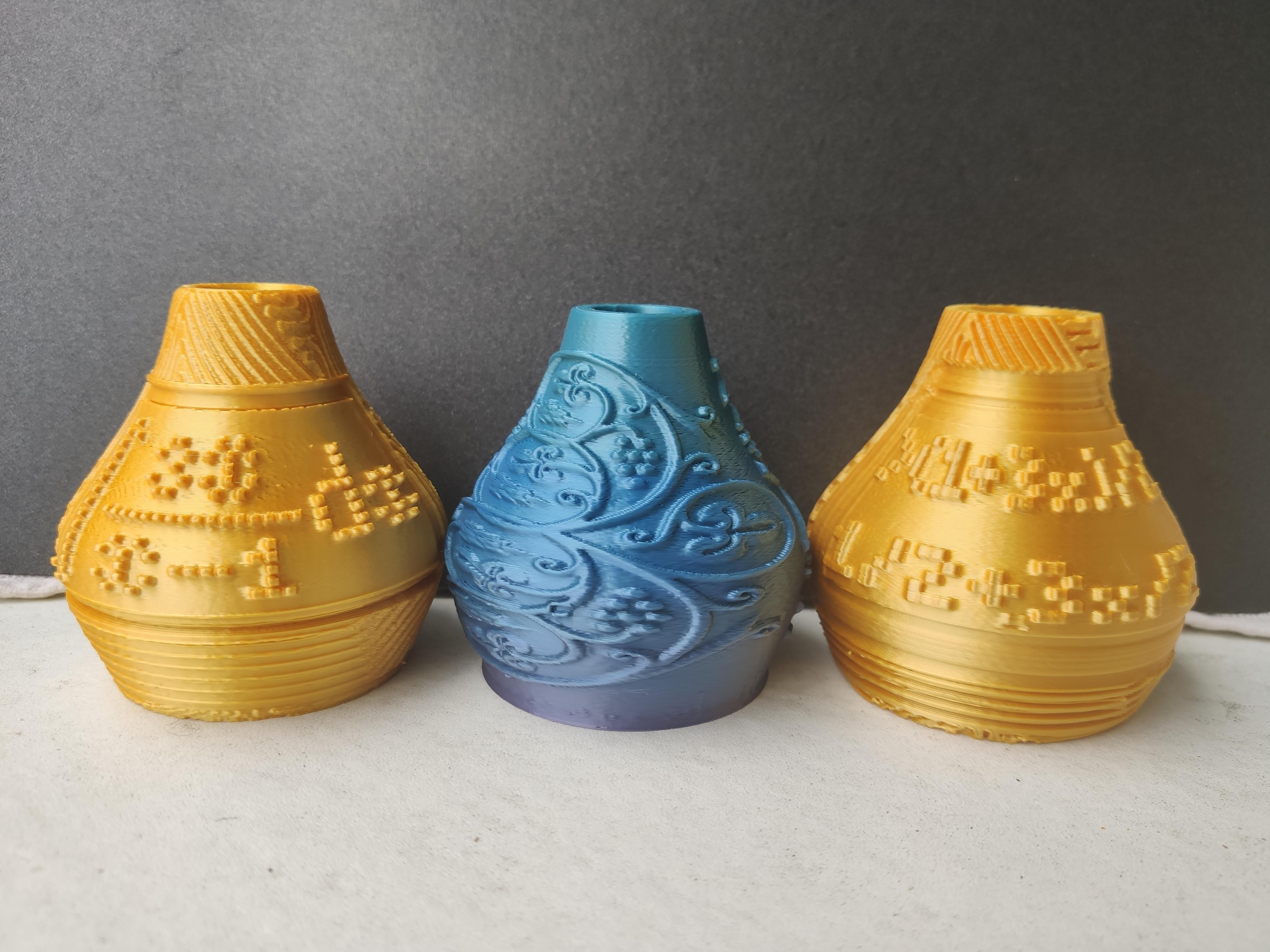 IMG_20200710_131432.jpg Télécharger fichier STL X86 Mini vase collection  • Objet imprimable en 3D, motek
