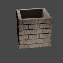 Descargar archivos 3D gratis Olla de ladrillos, Motek3D
