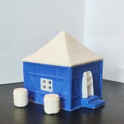 Download free 3D print files Tiny house, Motek3D