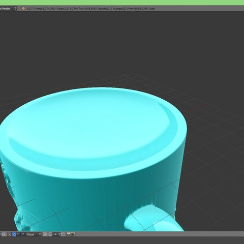 3.1.jpg Download STL file Game Of Thrones Stark Coffee Mug • 3D printer object, SimaDesign