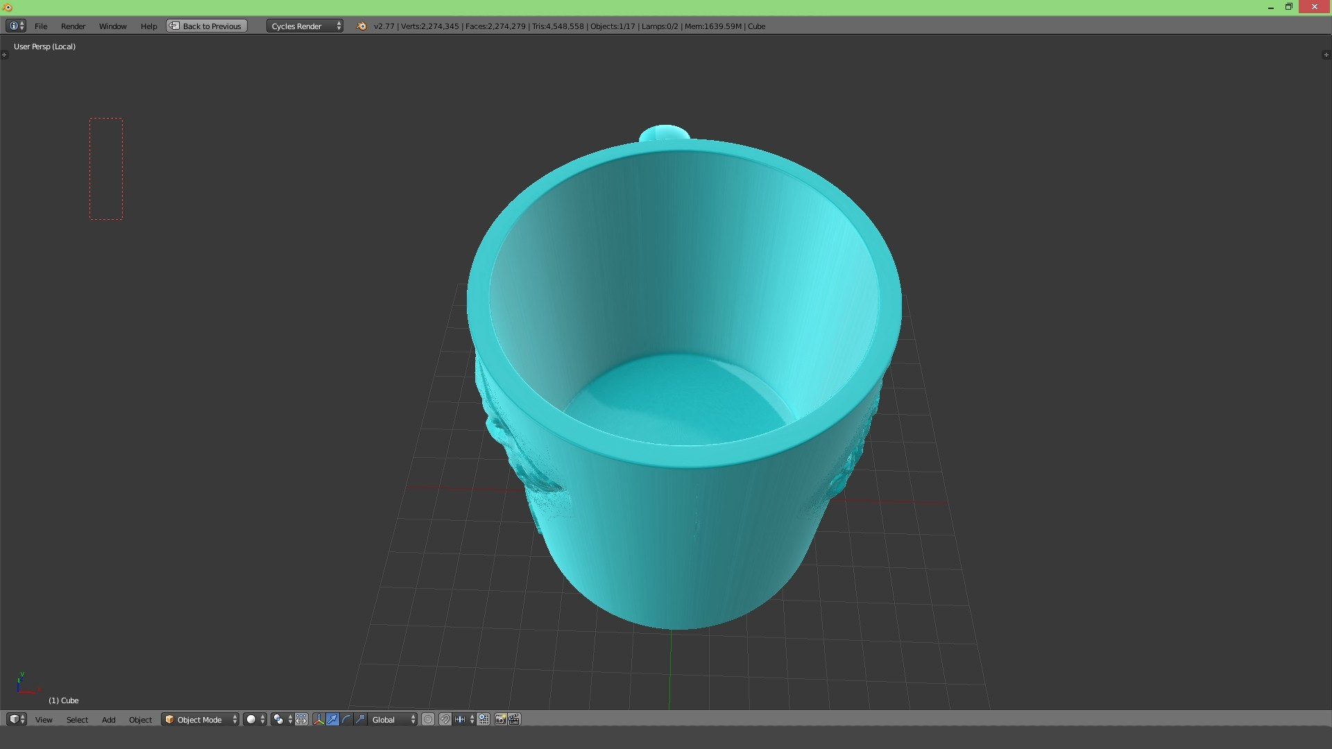 3.2.jpg Download STL file Game Of Thrones Stark Coffee Mug • 3D printer object, SimaDesign