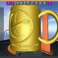Download free STL file Game Of Thrones Arryn Coffee Mug • 3D printable model, SimaDesign